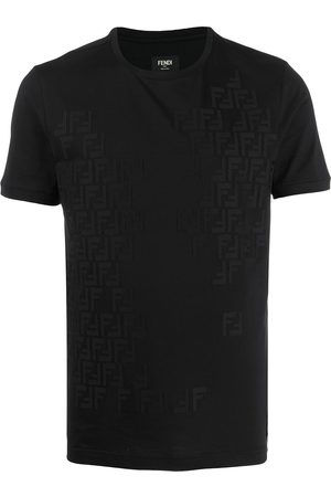 Fendi T-Shirt FF Muster